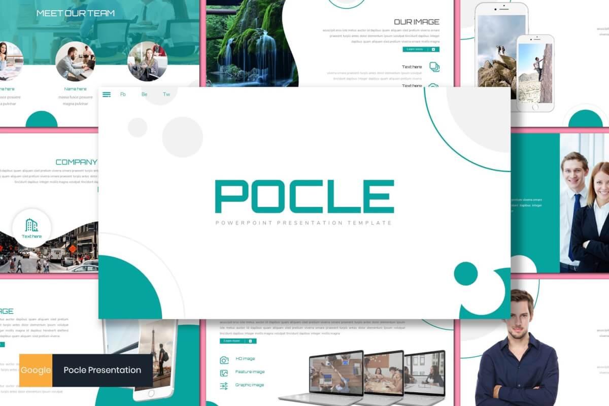 Pocle-商业融资计划书Google幻灯片模板