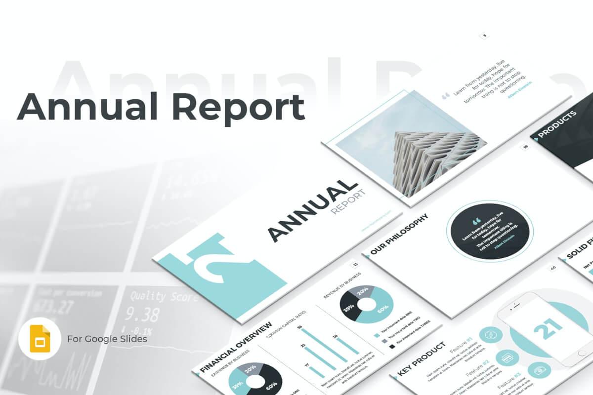 简约大气工作报告公告年度报告PPT模板