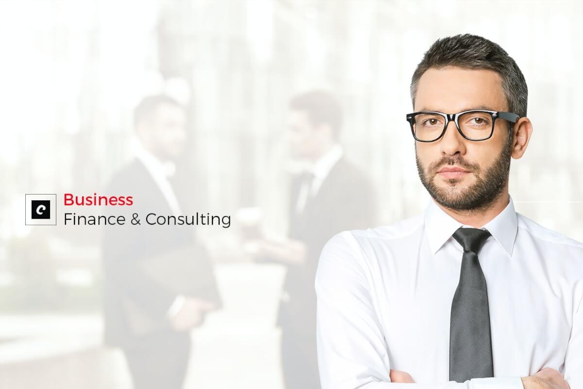 商务风格多用途业务金融工业网站HTML模板