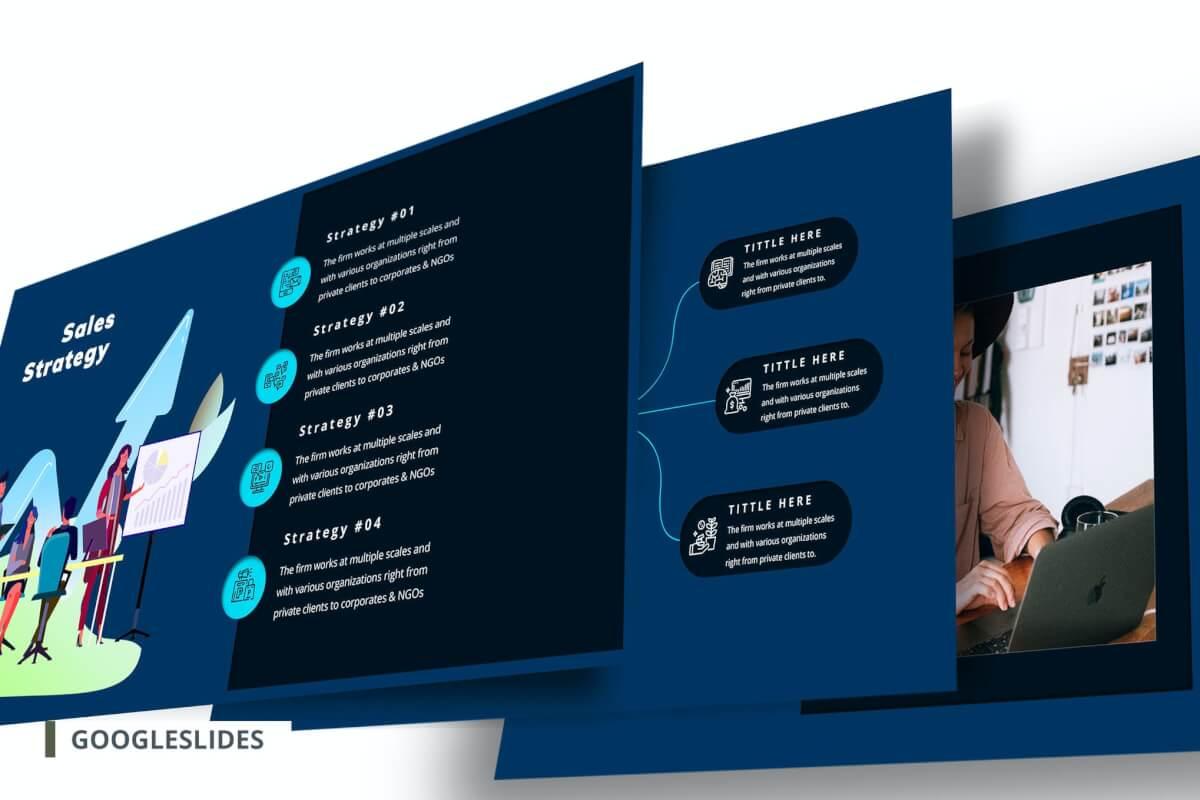 创业计划书Google幻灯片模板