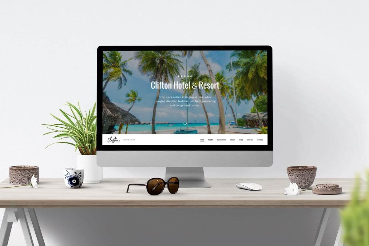 Clifton Hotel-旅游行业官方网站HTML5前端模板
