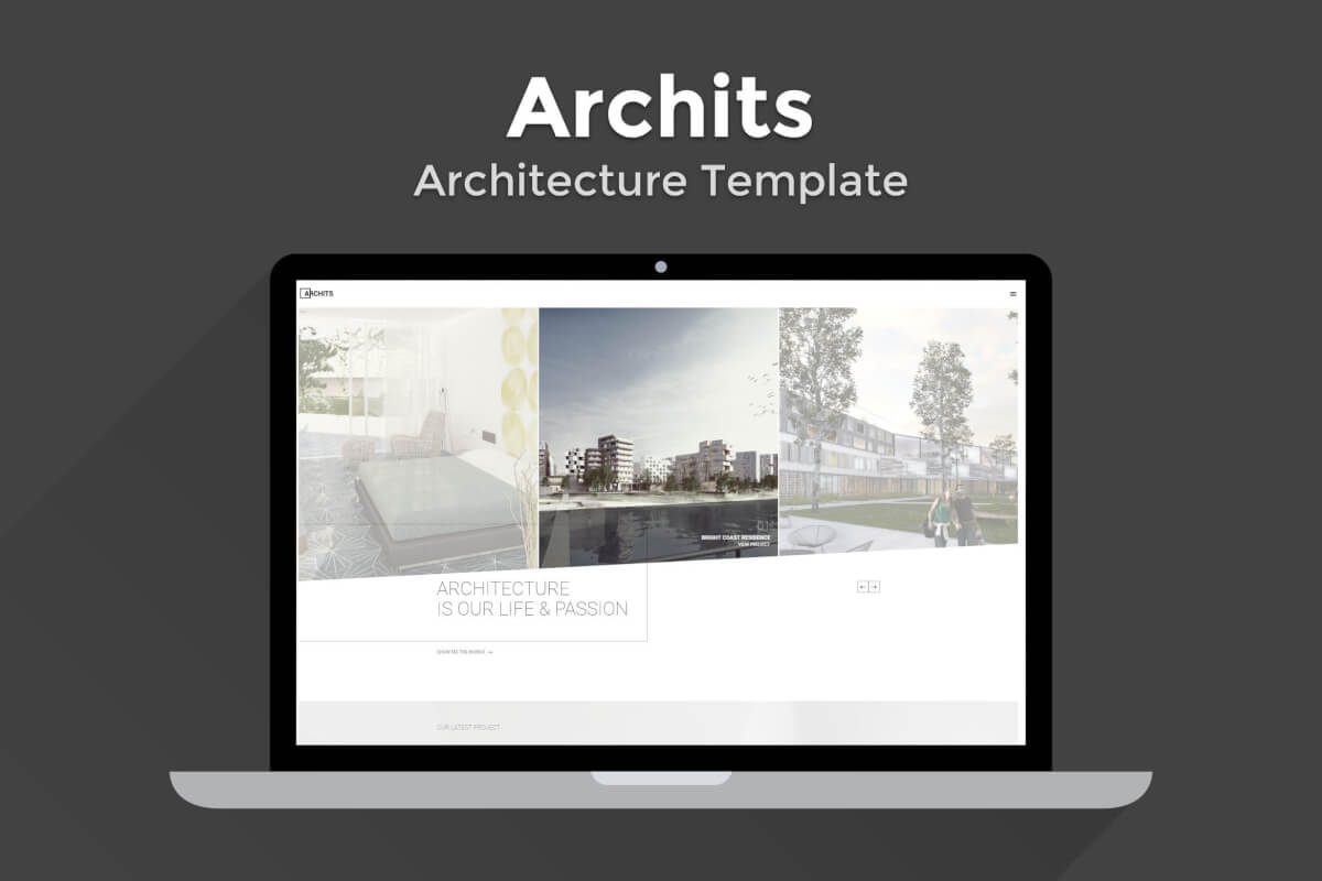 Archits-创意建筑房地产营销网站html模板