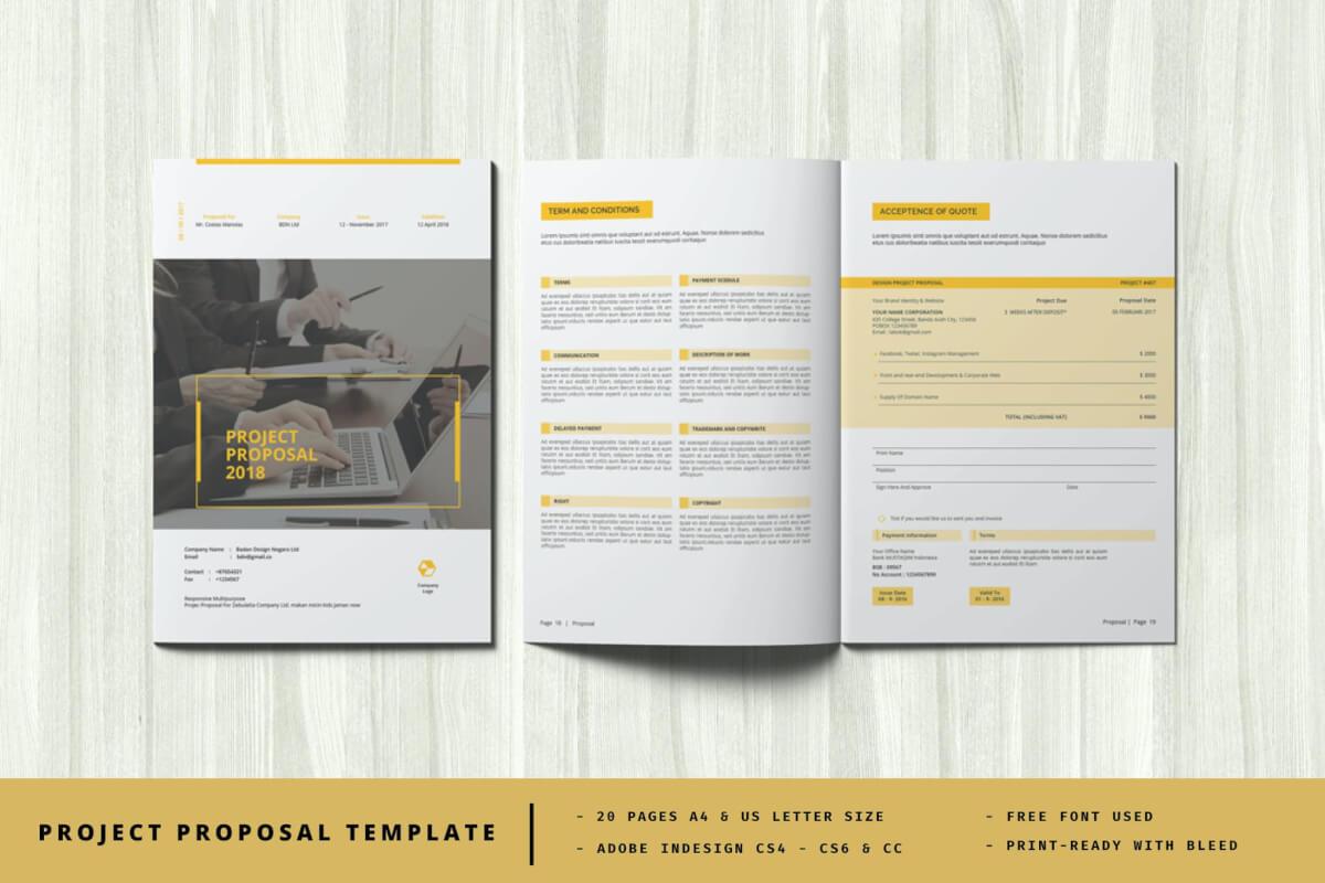 简约大气创意企业画册设计模板